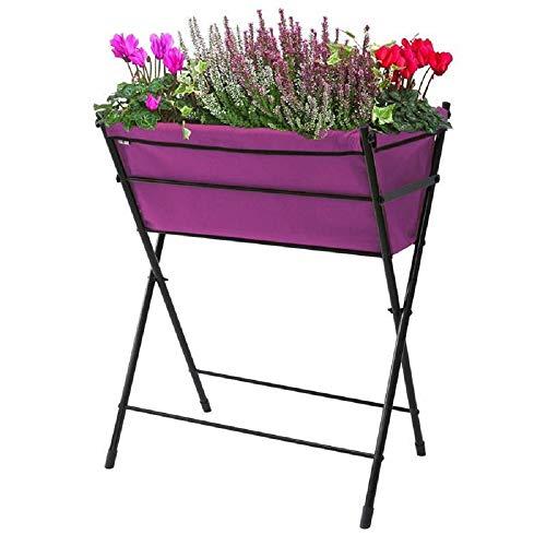 VegTrug Hochbeet Poppy Go Farbe Purple Länge: 65cm Breite: 40cm Höhe: 79cm